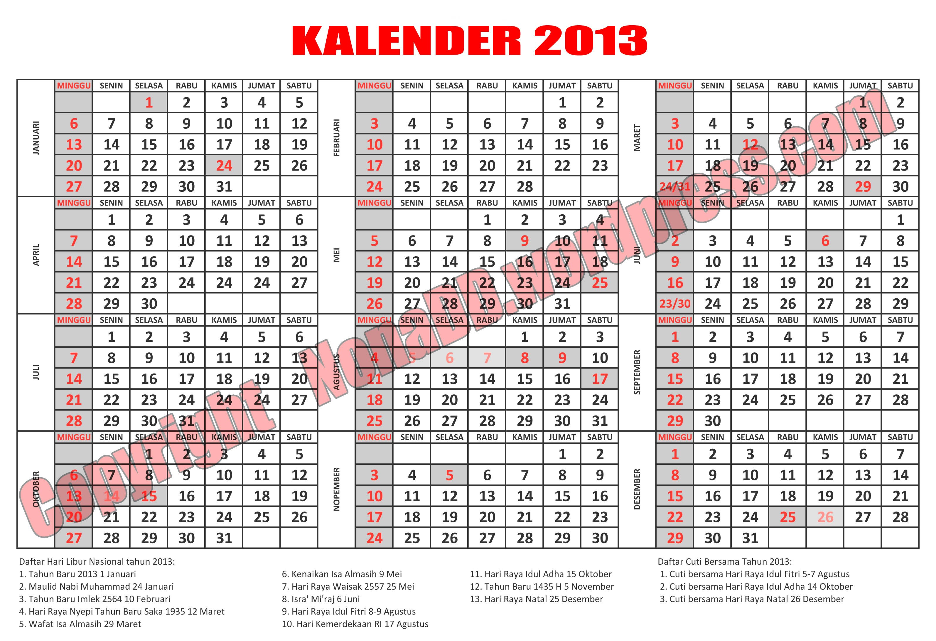 kalender a